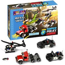 lego police jeep instructions amazon com 488 pieces super police chase includes police car