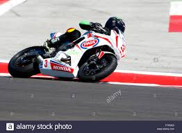 honda cbr sport misano adriatico italy june 21 honda cbr 650f of idwe racing