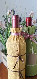 gift wrapping wine bottles wine bottle gift wrapping tutorial diy gift wrapping