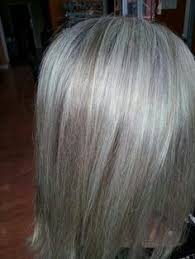 transitioning to gray hair with lowlights blending gray hair with lowlights grey hair ideas pinterest