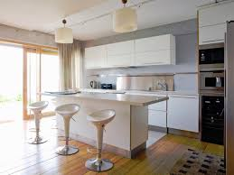 White Portable Kitchen Island Portable Kitchen Islands Glossy Dark Floor Built In Shelves White