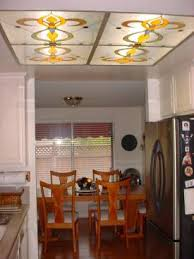 Kitchen Light Diffuser - kitchen ceiling stainglass lights ceiling art ceiling light