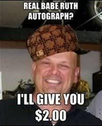 Pawn Stars Rick Meme - scumbag rick harrison