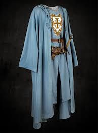 costume light blue robe with hood thevikingstore co uk