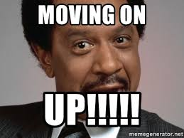 Moving On Up Meme - moving on up george jefferson badass meme generator