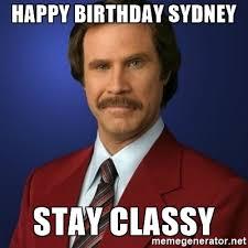 Sydney Meme - sydney birthday meme birthday best of the funny meme