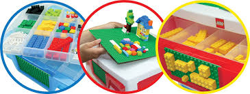 Amazon IRIS LEGO 3 Drawer Sorting System with 1 LEGO