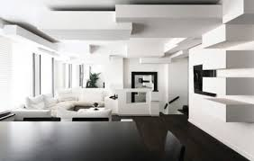 Modern Interior Design Apartments  Chic Apartment By On Decor - Modern interior design ideas for apartments