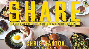 cuisine santos cookbook recipes by chef chris santos foodies