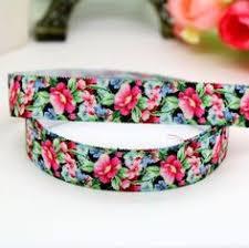 elastic ribbon by the yard elastic ribbon elastic fold elastic floral elastic ribbon