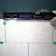 Installing Tile In Shower How To Tile A Shower