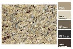 what color cabinets go with venetian gold granite i just spotted the colors kitchen paint colors