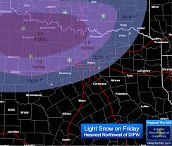 Dallas Radar Map by Snow Expected Over North Texas And Dfw On Friday 2 27 U2014 Iweathernet