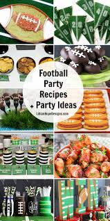 football party ideas football party recipes and ideas lillian designs