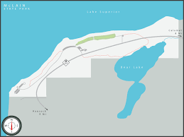 map of calumet michigan michigan state parks reservations