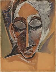 Drapery Art Pablo Picasso Head Of A Woman Study For