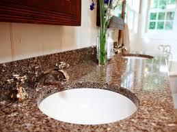 granite countertop sink options bathroom sink options hgtv