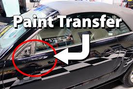 how to remove paint transfer off your car u0027s paint