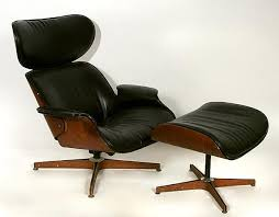 Plycraft Eames Chair George Mulhauser For Plycraft Lounge Chair And Ottoman Mid