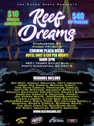 reef dreams 2018 march 17 charleston sc join us reef2reef