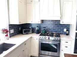blue tile kitchen backsplash blue tile kitchen backsplash kitchen stunning kitchen blue subway