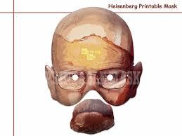 unique masks unique heisenberg printable masks by holidaypartystar on zibbet