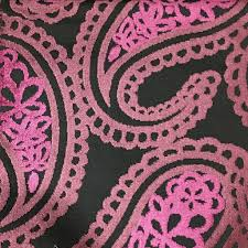home decor fabrics by the yard victoria bold paisley cut velvet upholstery fabric by the yard