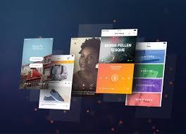 free readymade mobile app design presentation mockup psd good