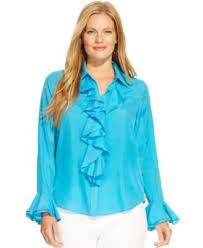 plus size silk blouse ralph plus size ruffled silk blouse tops plus