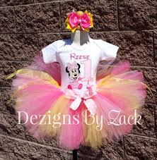 baby minnie mouse 1st birthday baby minnie mouse 1st birthday tutu pink yellow