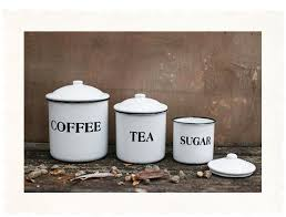 White Kitchen Canister Country Kitchen Canister Set With Black Letter D Cor Nova68