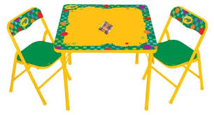 crayola table and chairs amazon com kids only crayola erasable activity table set toys games