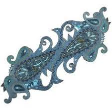 Beaded Table Linens - kim seybert ornament table runner neiman marcus christmas ideas