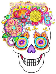 dead flower coloring page day of the dead coloring book plus day of the dead coloring book