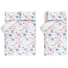Asda Bed Sets New Unicorns Rainbows Bedding Set From 10 Asda George