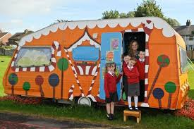 reading caravan caravan transformed into a reading retreat knowsley