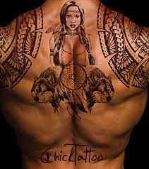 two wolves tribal my pictures pinterest tattoo tatting and