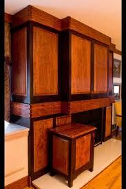 handmade built in bubinga u0026 wenge entertainment cabinet by corlis