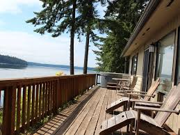 olympia waterfront beach house on puget s vrbo