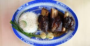 tender soy braised pressure cooked beef ribs hip pressure cooking