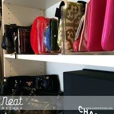 closet storage for purses u2013 dominy info