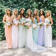 best 25 pastel bridesmaids ideas on pinterest pastel bridesmaid