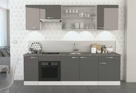 cuisine gris foncé conception de cuisine le meilleur design de cuisine pour votre