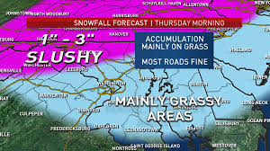 Washington Dc Weather Map by Snow Forecast For Dc Area Wtop