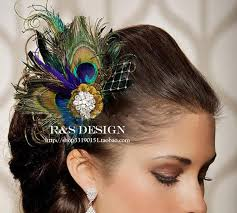 feather hair accessories 2015 peacock feather hair vintage hair accessories exquisite