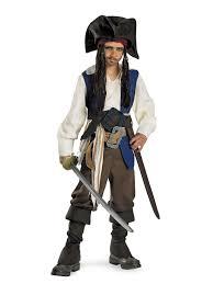 captain jack sparrow deluxe costume tv u0026 movie halloween costumes