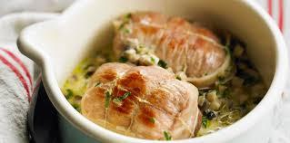 cuisiner des paupiettes de veau au four paupiettes de veau au vin blanc facile recette sur cuisine actuelle