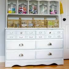 making over an old dresser for craft room storage orc week 3