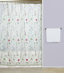 shower curtains plastic curtain bath outlet poppies vinyl shower curtain
