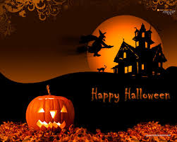 halloween background family wallpaper clipart